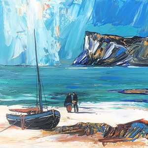 Fishing Couple ( Fairhead )