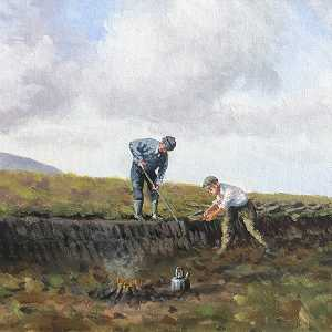 Turf Cutting in the glens