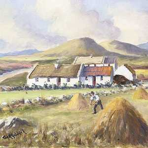 Hay Making Near Carndonagh Donegal