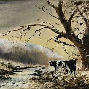 Cattle by the River Dunn